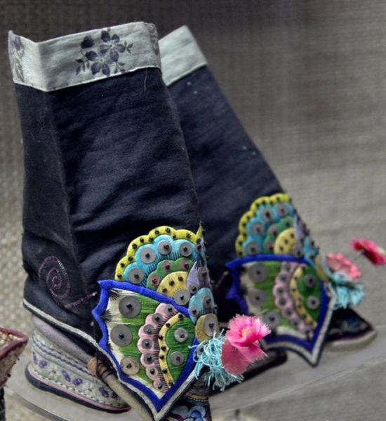 古代的鞋子图片
