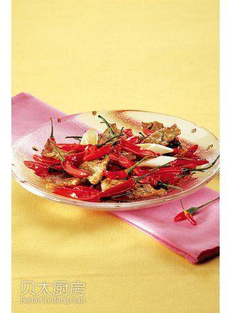 红椒牛肉片(图片来源:贝太厨房)