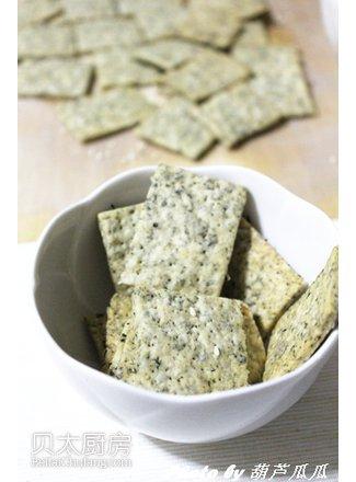 咸味海苔苏打饼干(图片来源:贝太厨房)