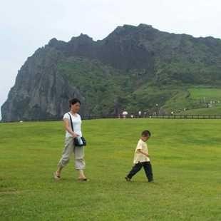 济州岛城山日出峰