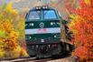 东北铁路绝美秋景