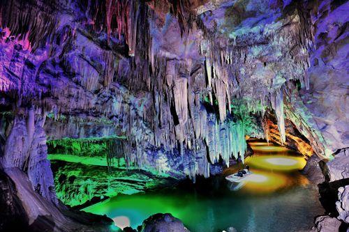 本溪水洞风景名胜区位于