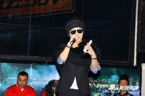 本场活动主持人来自天津音乐电台著名dj
