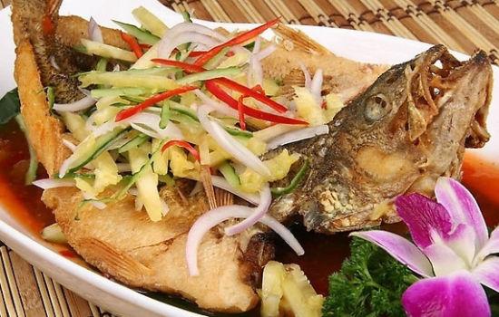 泰式酸辣鱼。图片来源:互联网