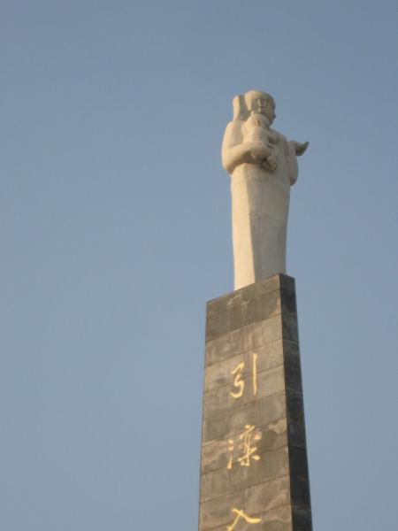 引滦入津工程纪念碑
