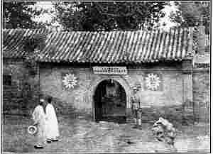 水西庄河神庙旧照