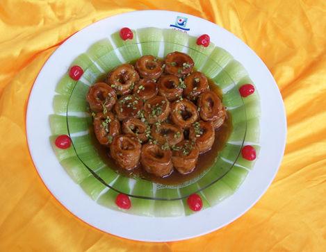 登瀛楼特色菜:九转大肠。图片来源:互联网