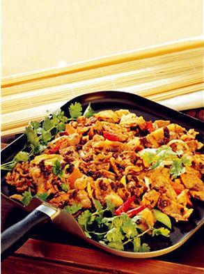 葱爆平锅羊柳。图片来源:贝太厨房