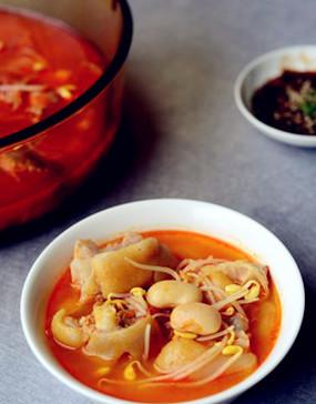 贵州经典菜酸汤蹄花。图片来源:互联网