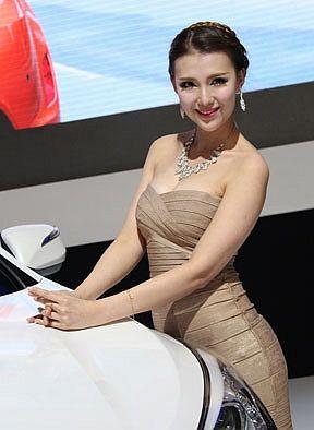 2013天津车展模特高清美图