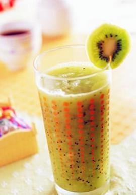 奇异果汁。图片来源:互联网