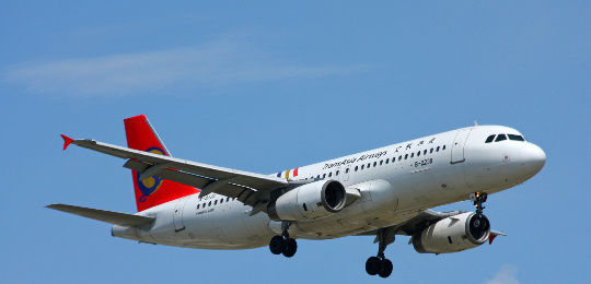 台湾复兴航空公司客机(资料图)
