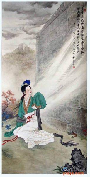 """一点资讯_""""孟姜女哭长城""""是怎样演绎出来的(图)_新浪天津旅游_新浪天津"""