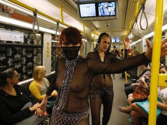 柏林地铁另类T台