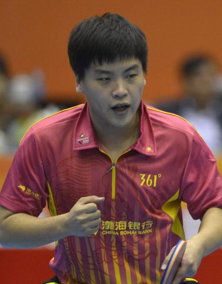 天津之队男乒运动员 郝帅