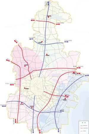 秦皇岛海港区公路地图