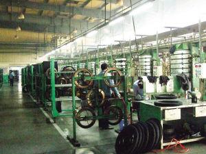 建大公司的生产线未来将成为我国北方地区最大的轮胎生产基地