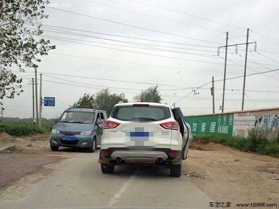 福特翼虎断轴事件第一起-安徽省凤阳县