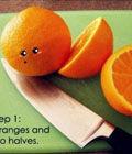自制繽紛橙子果凍