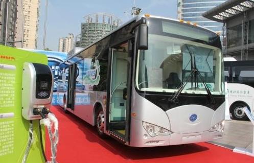 比亚迪投资30亿元在黄陂区建设新能源客车生产及物流基地高清图片
