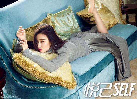 倪妮登时尚杂志封面演绎百变妩媚女人