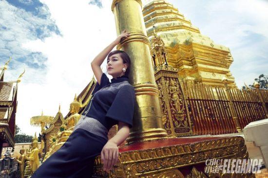 海陆泰国杂志大片优雅俏皮展异国风情