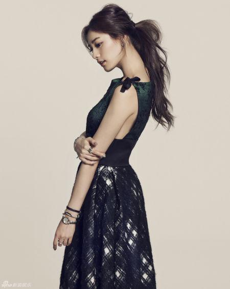 韩星NANA被评全球最美小方脸迎来春天