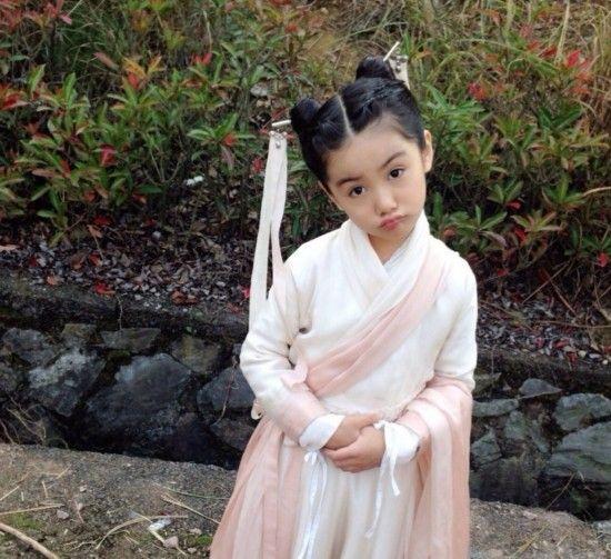 中国大陆女童星