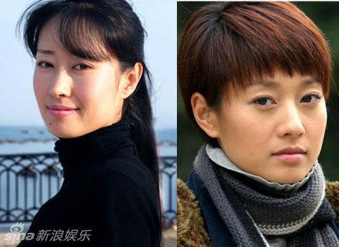 《琅琊榜》静妃刘敏涛撞脸马伊琍相似度80%