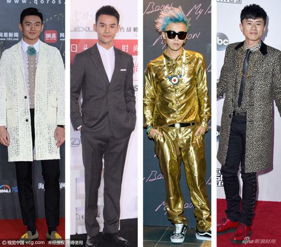 国民老公PK闰土谁曾是时尚界的争议boy?