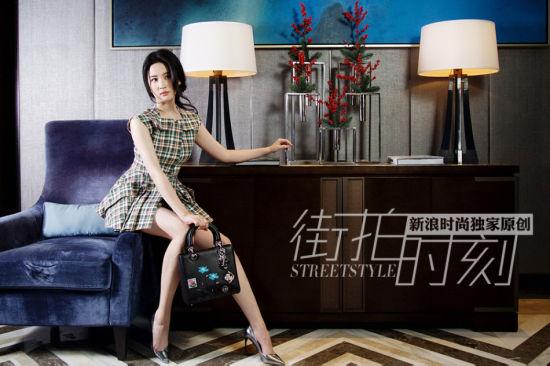 """街拍时刻""""神仙姐姐""""刘亦菲的异想世界"""