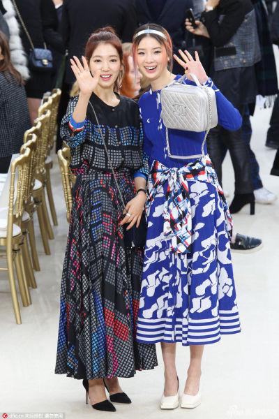 昆凌林允朴信惠Chanel被90后亚洲女星包场