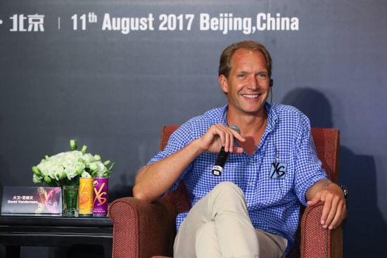 """XS品牌全球副总裁、XS联合创始人大卫·范德文先生分享XS""""有你就有可能""""的品牌理念"""