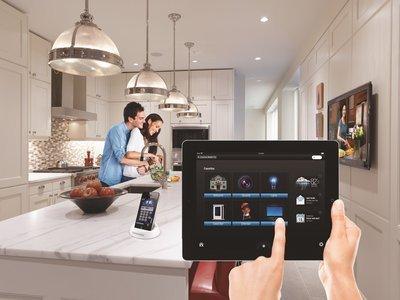 未来5g智能互联家居将提供千兆级宽带,更广泛的家庭覆盖,以及可信连接图片