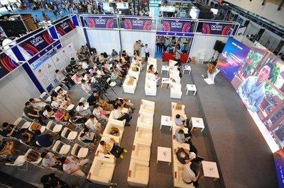 北京数字娱乐节展会现场
